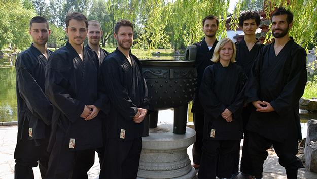 Das Lehrer-Team von Shaolin Berlin.